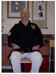 Sensei Paul Taylor - Beeches Martial Arts Club Founder